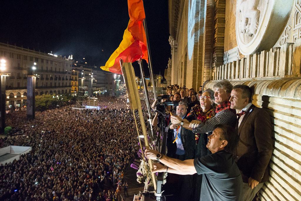 Arrancan los Pilares 2016, las fiestas populares de Zaragoza