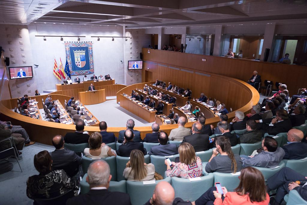 La investidura del presidente de Aragón
