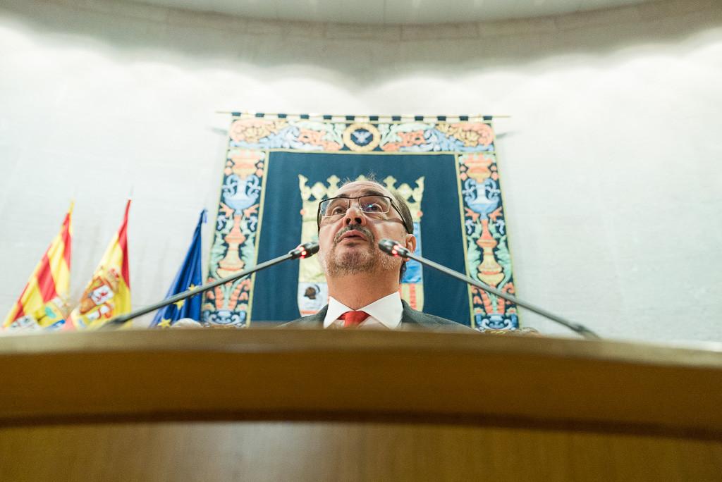 """Lambán muestra su apoyo al 155 y se pone """"a disposición del Estado para contribuir a restablecer la normalidad democrática"""""""