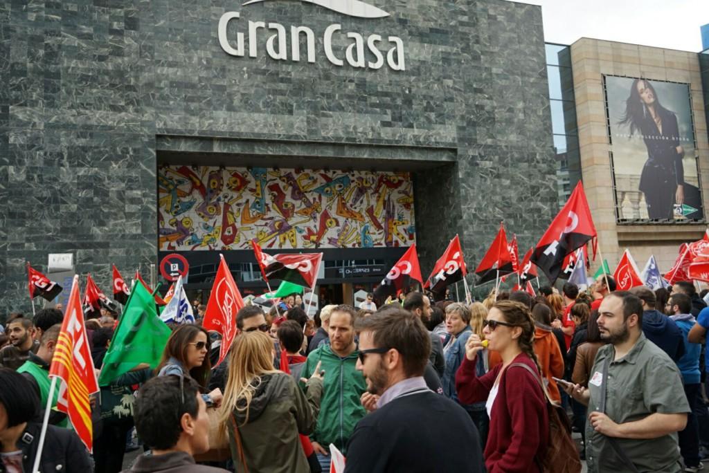 La plantilla de Extel Zaragoza vuelve a la huelga con dos jornadas de paros