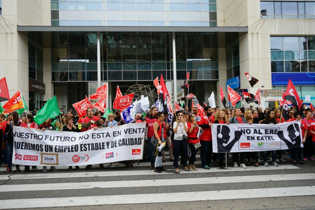 SOA retoma las huelgas de 24 horas en Extel