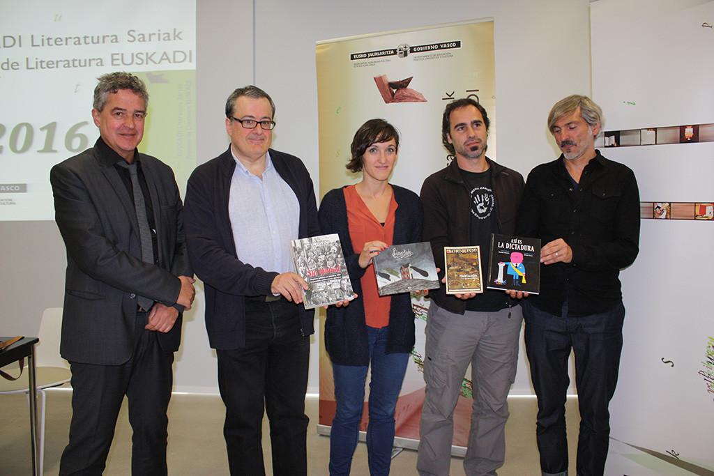 El profesor del Campus de Uesca Fernando Mikelarena, premio Euskadi de Literatura 2016