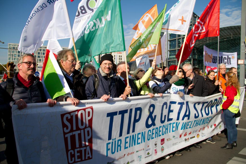 Nueva jornada de movilizaciones contra el CETA a nivel europeo