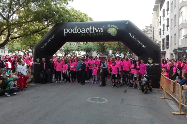 Gran éxito de participación en la III Carrera Uesca contra el cáncer