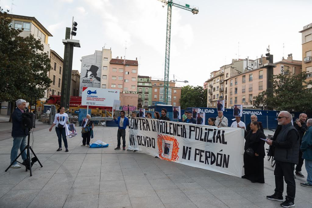 Vuelven las movilizaciones tras la reapertura del caso del joven fallecido en la Comisaría de Ranillas