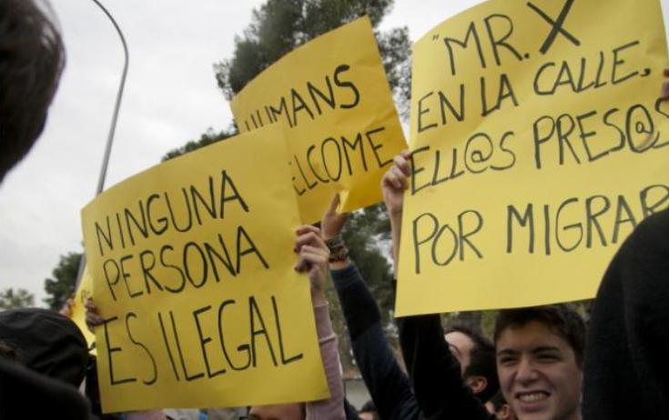 Los internos del CIE de Aluche comienzan una huelga de hambre para reclamar un trato digno
