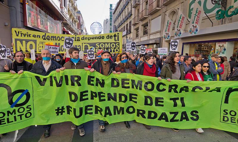 La Ley Mordaza sanciona a No Somos Delito