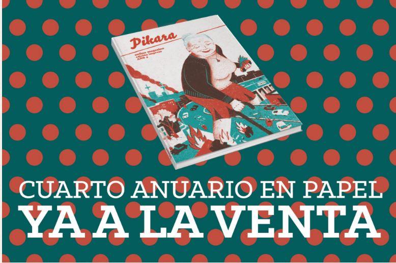 Pikara Magazine vuelve a Zaragoza con su cuarto número bajo el brazo
