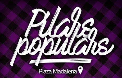 Pilars Populars en la plaza de la Madalena