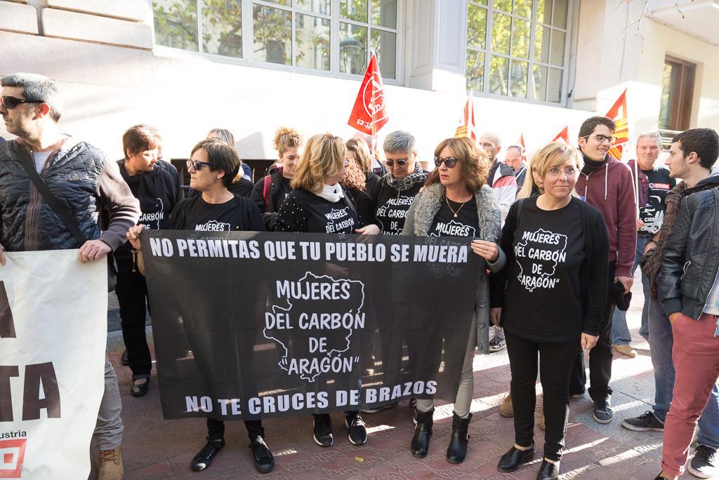 Sindicatos mineros exigen a Endesa una decisión sobre la Térmica de Andorra
