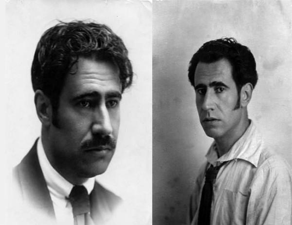 Dos imachens de choventut de l'artista, intelectual y activista aragonés. Foto: Fundación Ramón Acín