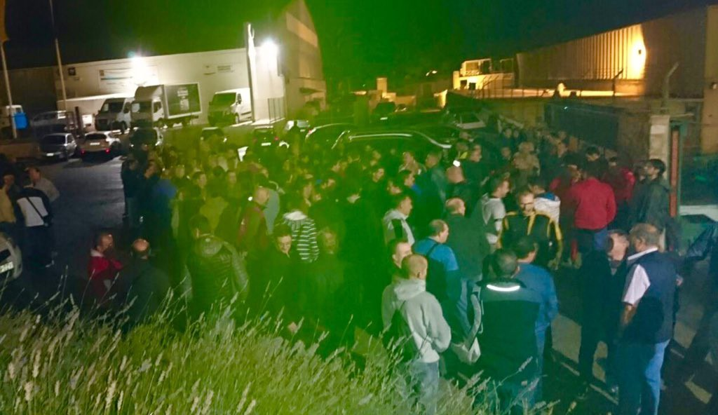 Las y los trabajadores de Teka en huelga por un convenio colectivo justo