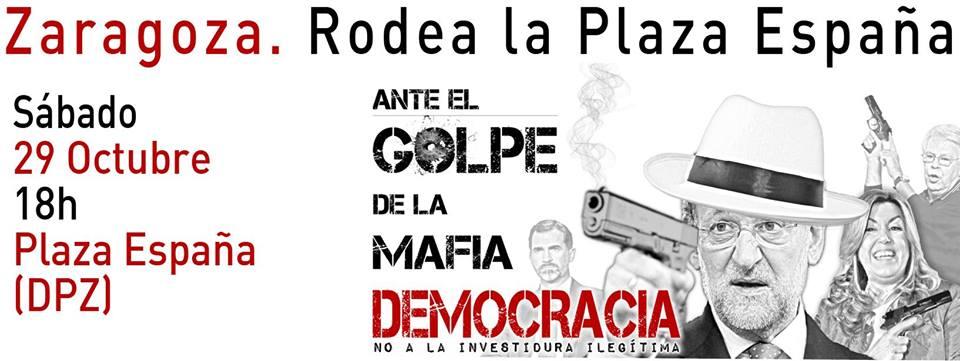 Zaragoza en Común celebra que los movimientos sociales, políticos y sindicales vuelvan a «tomar la calle»