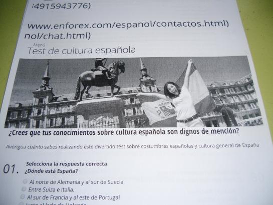 Ser español