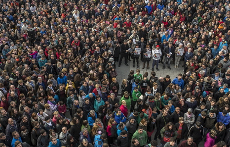 """La Audiencia Nacional procesa a nueve jóvenes de Altsasu por delito de """"terrorismo"""""""