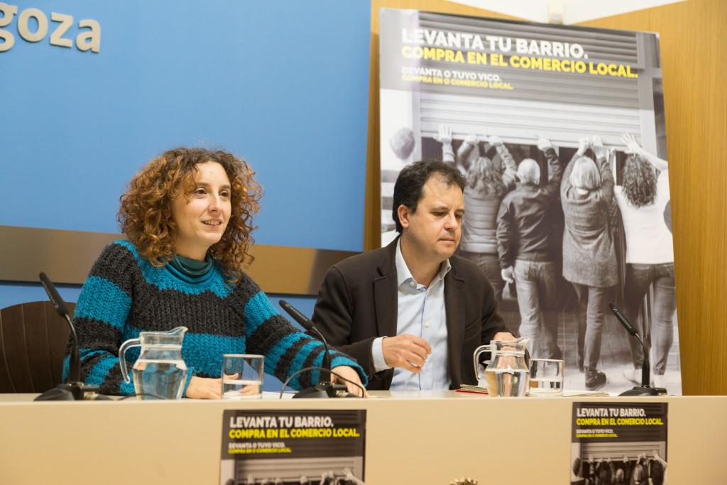 El Ayuntamiento de Zaragoza materializa su apoyo al pequeño comercio con compromisos y acciones concretas