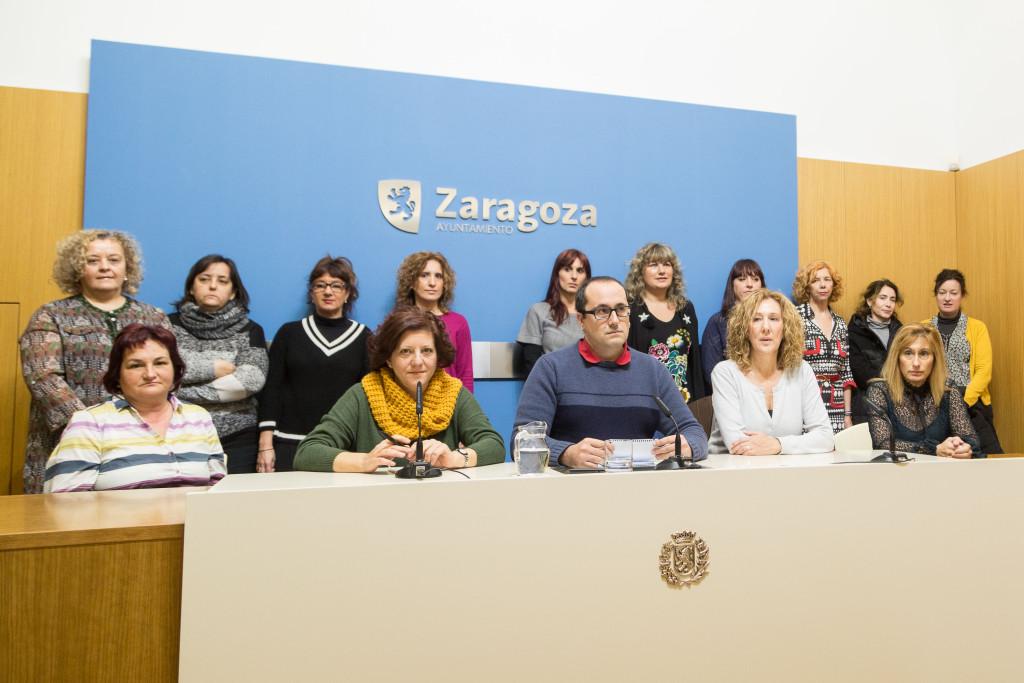 """Una sentencia reconoce el """"carácter indefinido no fijo"""" de las trabajadoras del 010 en el Ayuntamiento de Zaragoza"""