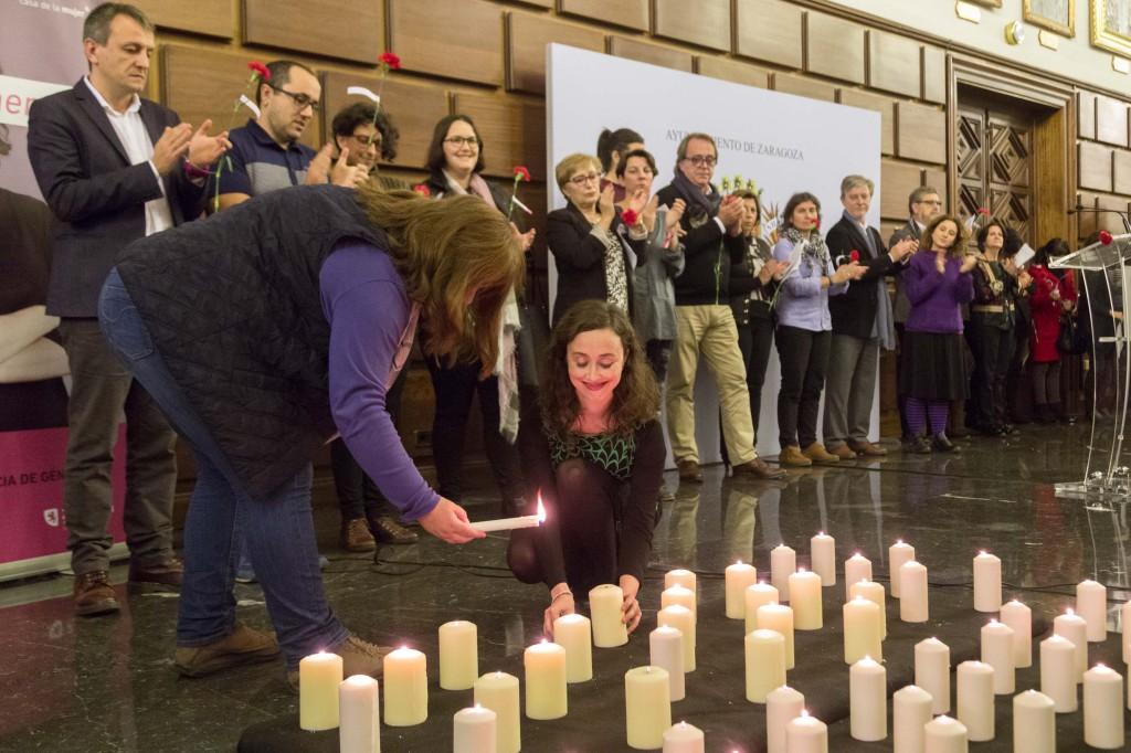 El Ayuntamiento de Zaragoza establece un protocolo de duelo para cuando se cometa un asesinato por violencia machista