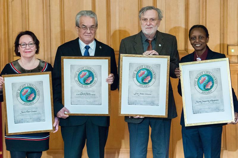 Con críticas a la restricción de libertades, los Premios Right Livelihood se entregan en Suecia