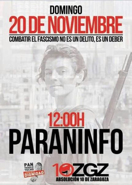 Absolución 10 de Zaragoza