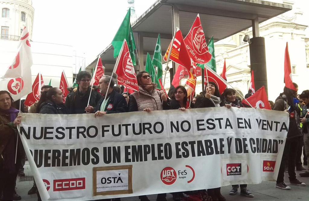 Los sindicatos que convocan la huelga de Contact Center serán recibidos en el Congreso de Madrid
