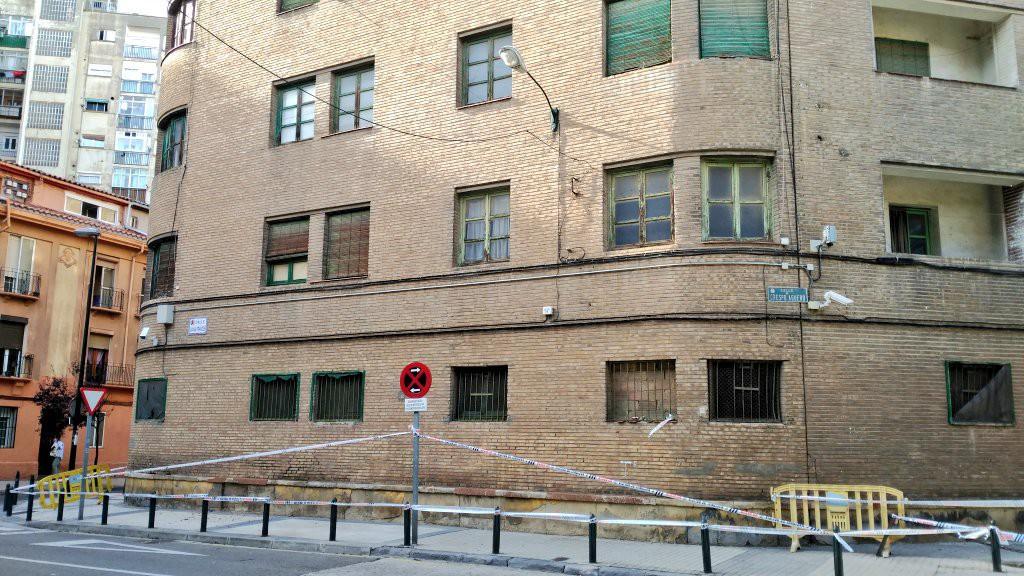 Unidos Podemos reclama al Ministerio del Interior que rehabilite el cuartel policial de la calle Mayandía de Zaragoza