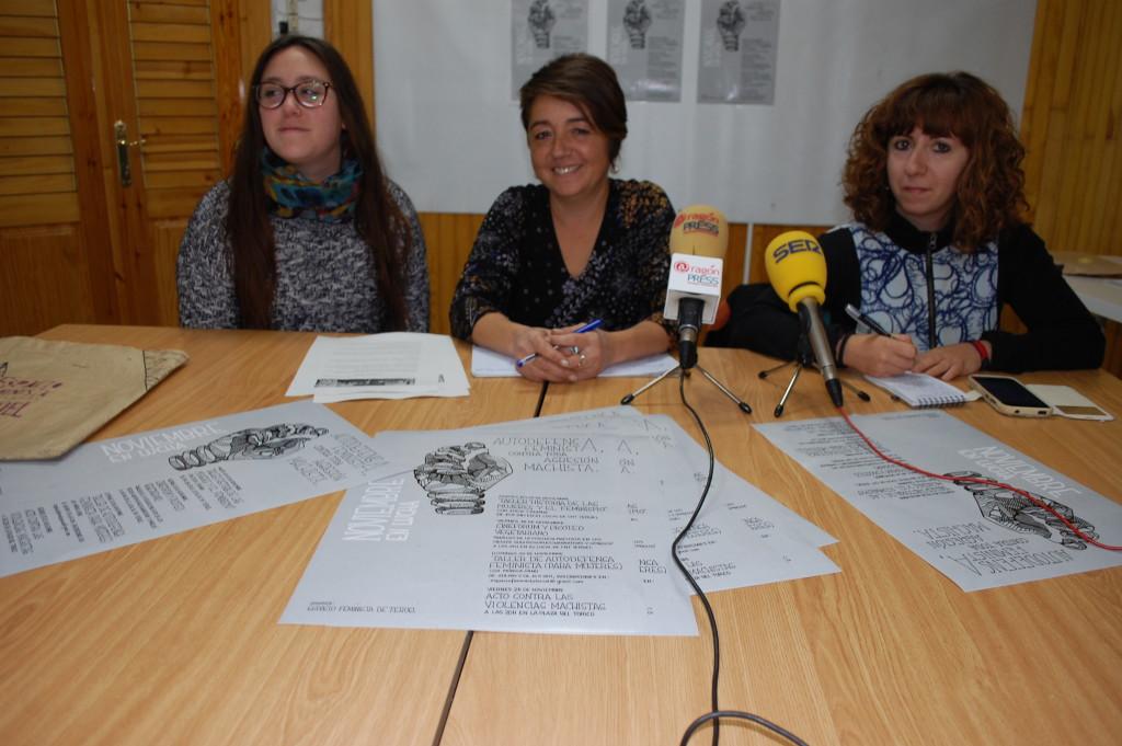 Espacio Feminista de Teruel organiza diversas actividades con motivo del 25N