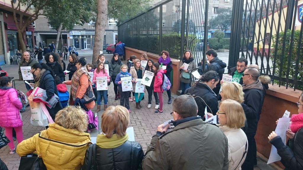 CGT convoca una concentración en Calatayud por la racionalización de los conciertos educativos en el medio rural aragonés