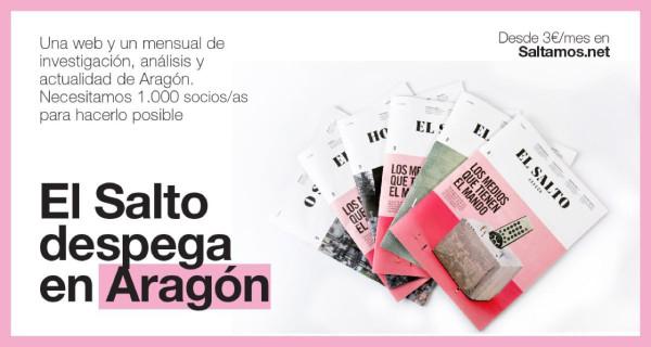 EL SALTO ARAGÓN despega