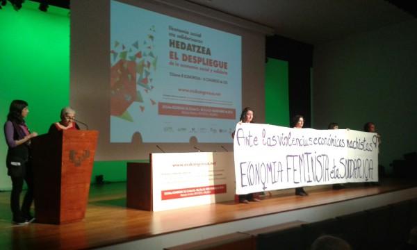 La ESS contra las violencias machistas. Foto: @arainfonoticias