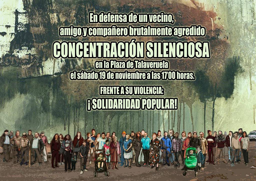 Una veintena de colectivos muestran su solidaridad con el activista ecologista agredido en Cáceres