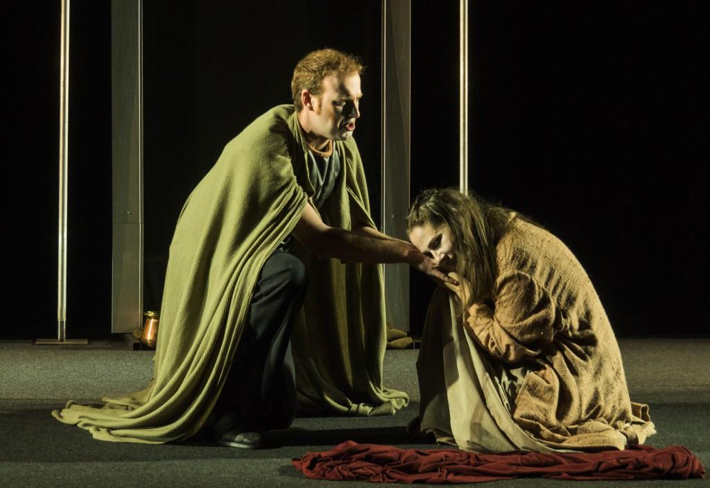 La 'Elektra' de Teatro del Norte trae toda la intensidad de los clásicos griegos al Teatro de la Estación