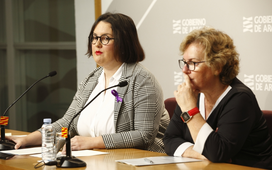 El Instituto Aragonés de la Mujer organiza diversos actos con motivo del Día Internacional de las Mujeres