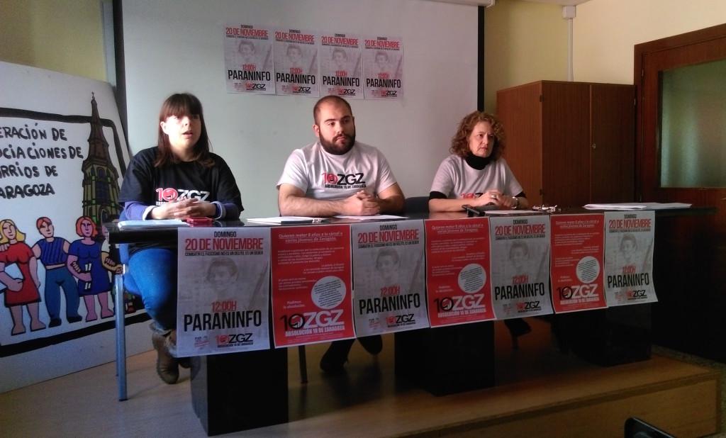 Segundo aniversario de las detenciones de 10 antifascistas de Zaragoza tras el concierto nazi del MSR