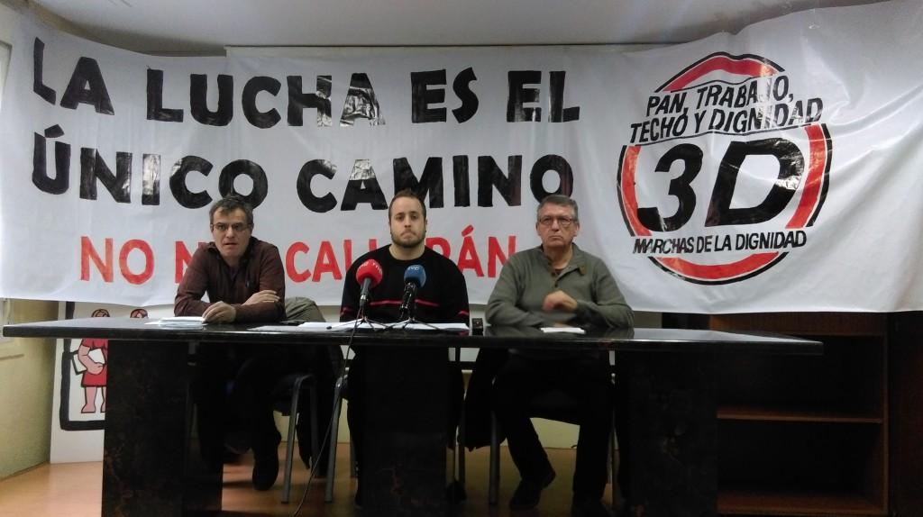 Las Marchas de la Dignidad continúan preparando la movilización del próximo 27 de mayo