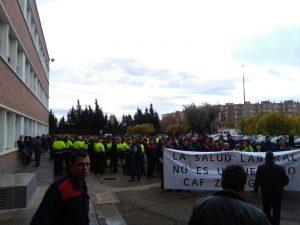 El comité de CAF-Zaragoza convoca movilizaciones para denunciar que «la salud laboral no es un negocio»