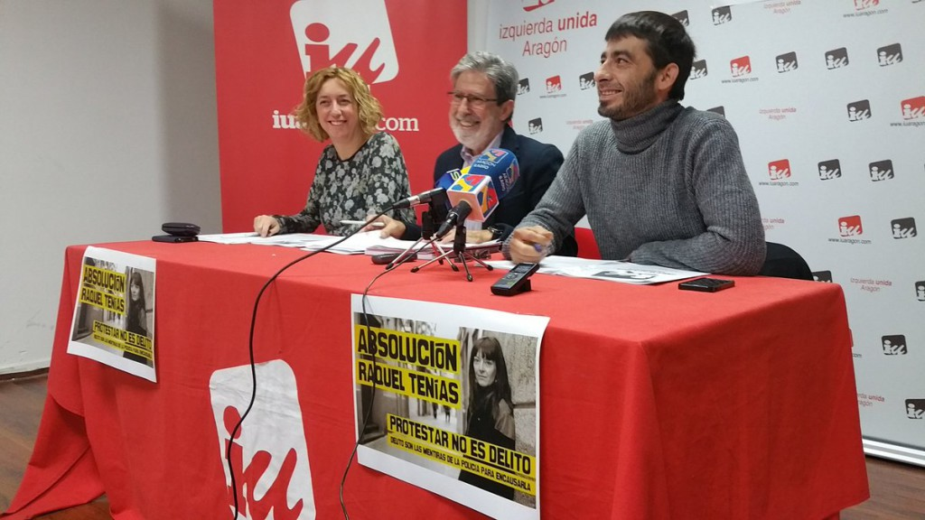 El Consejo Político de IU Aragón decide por unanimidad continuar con la suspensión del acuerdo con el PSOE