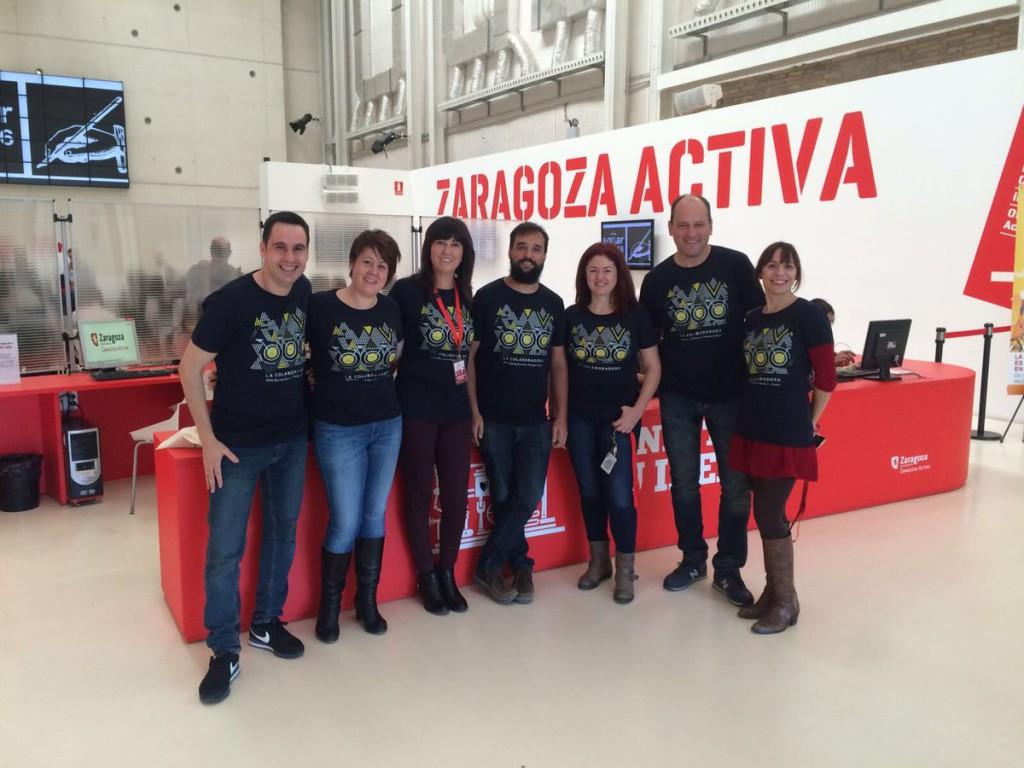La Colaboradora de Zaragoza Activa recibe un nuevo reconocimiento europeo