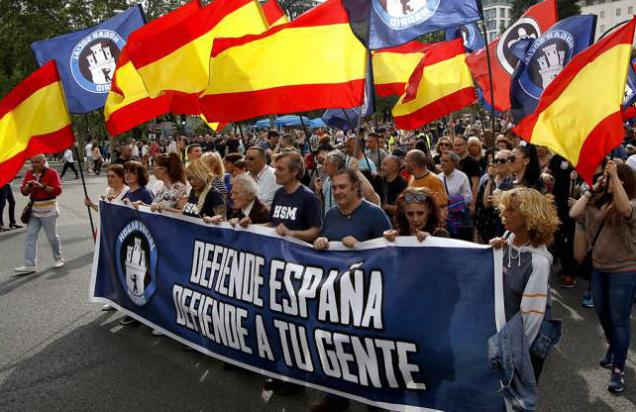Desalojan en Madrid el edificio ocupado por nazis, denominado Hogar Social