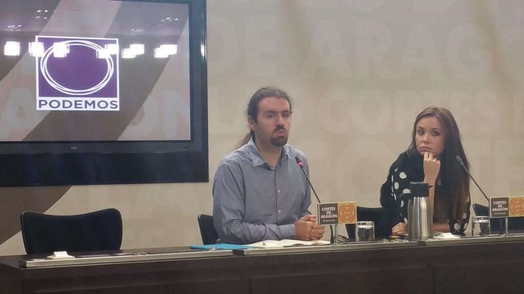 """Podemos exige a Lambán """"garantías políticas"""" para dialogar sobre los Presupuestos de 2017"""