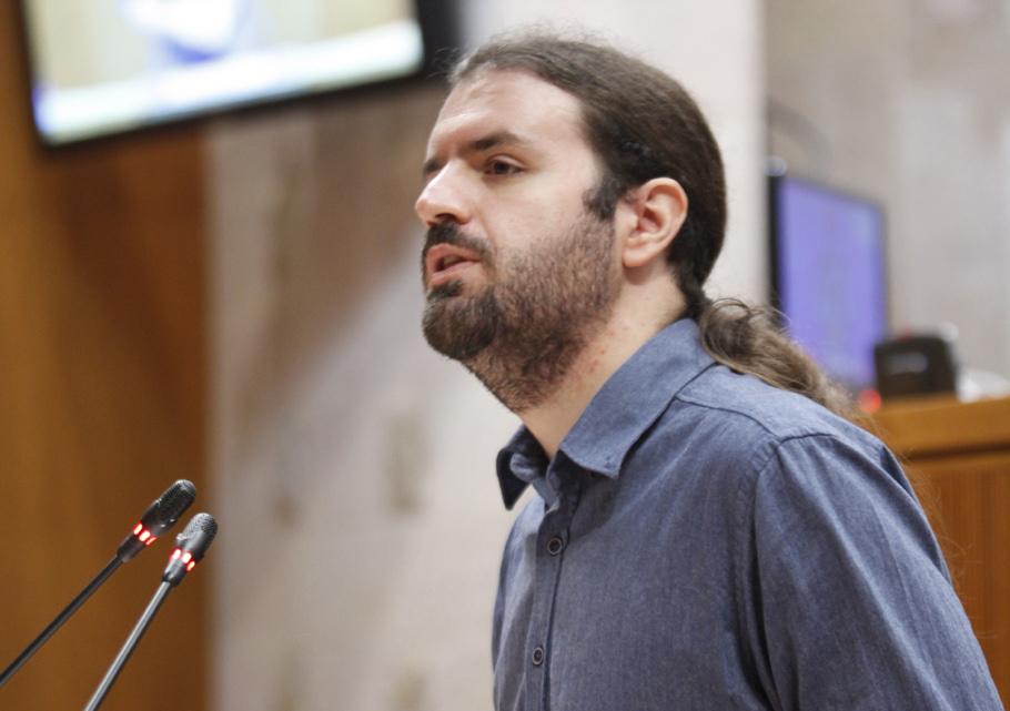 Héctor Vicente Ocón. Foto: Cortes de Aragón