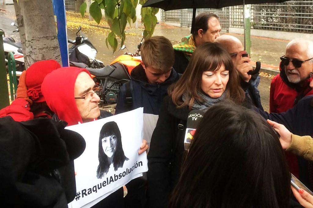 Raquel Tenías vuelve a defender su inocencia en un juicio que queda visto para sentencia