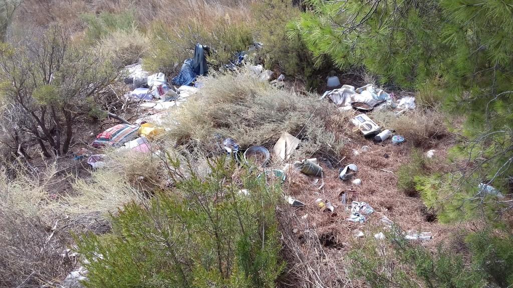 IU Fraga lamenta el cierre del expediente por el vertedero ilegal de Vall de la Mora