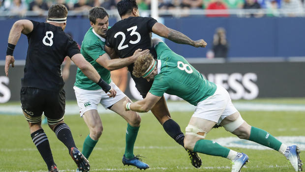 El bosque verde que atrapó a los All Blacks