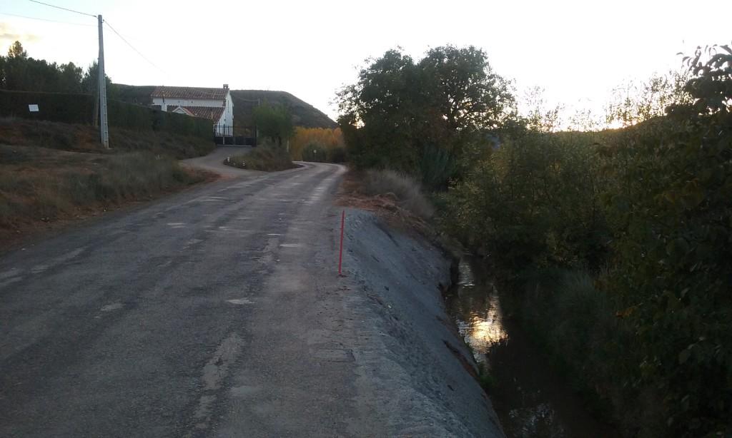 Ganar Teruel solicita a la DPT que intervenga con urgencia en la Carretera de Villaspesa