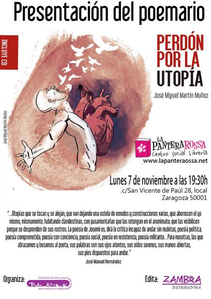 cartel presetaciones Zaragoza