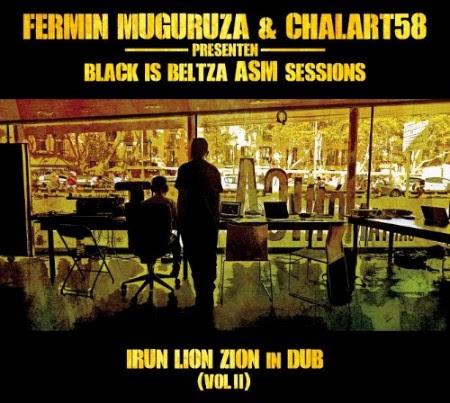 """Portada del nuevo disco de Fermin Muguruza, """"Black is beltza ASM sessions""""."""