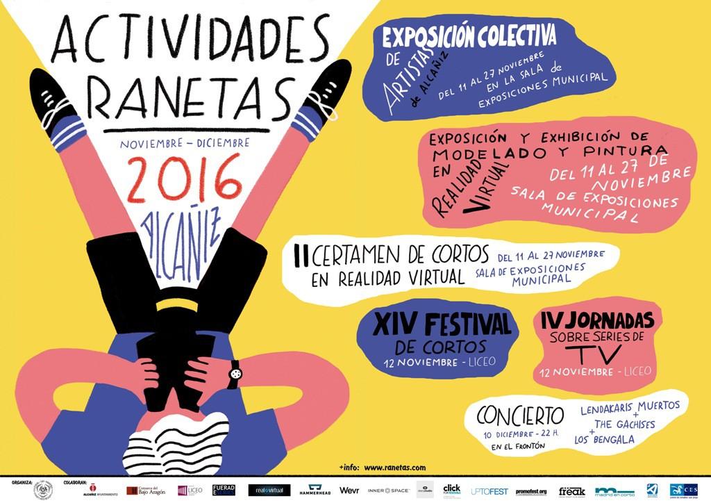 La Asociación Cultural Las Ranetas de Alcañiz vuelve con nuevas actividades para los meses de noviembre y diciembre