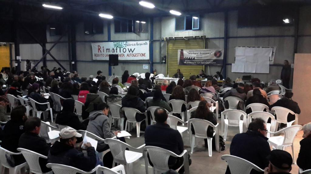 Tesalónica: la economía debe ser controlada por los trabajadores