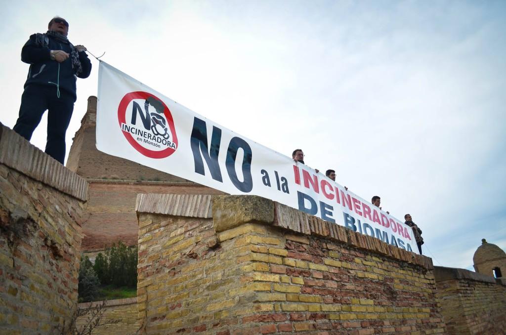 Ecologistas en Acción lleva al contencioso la inadmisión del recurso de nulidad contra la Incineradora de Biomasa de Monzón
